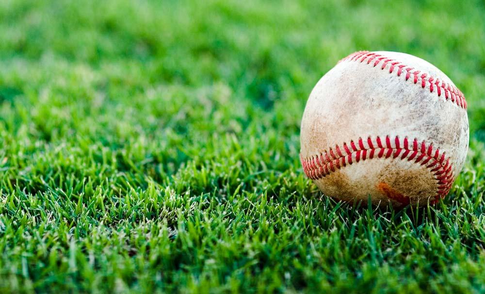 baseball-on-grass